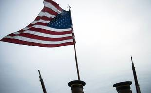 Illustration du drapeau américain.