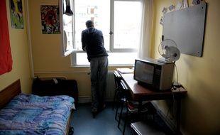 Logement étudiant dans la cité U Paul Appel le 25 02 2008