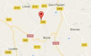 L'homme s'est retranchédans son appartement de Marcilhac en Haute-Loire armé d'un fusil.