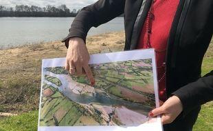 Des travaux pour réhausser le niveau de la Loire. Les épis vont être remodelés pour que le sable s'échappe
