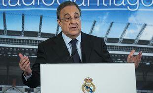 Florentino Pérez, le président du Real Madrid.