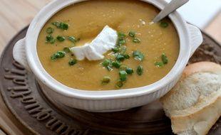 Illustration d'une soupe.