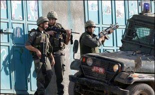 """Le dirigeant palestinien Mahmoud Abbas a émis l'espoir qu'après les élections générales prévues en Israël le 28 mars, Israéliens et Palestiniens allaient """"déployer des efforts pour revenir à la table des négociations""""."""