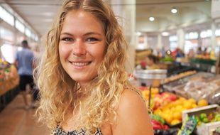 Anna Koziello, 24 ans, est à l'origine du site Internet avec son compagnon