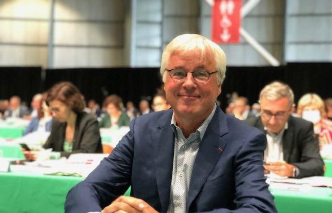 Rudy Elegeest, un des candidats malheureux à la présidence de la Métropole de Lille.