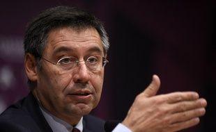 Le président du Barça Josep Bartomeu a été mis en examen pour une fraude fiscale présumée liée au transfert de Neymar, en 2013.