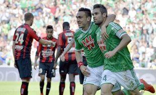 Mevlut Erding et Loïc Perrin ont tous les deux marqué dimanche face à Nice.