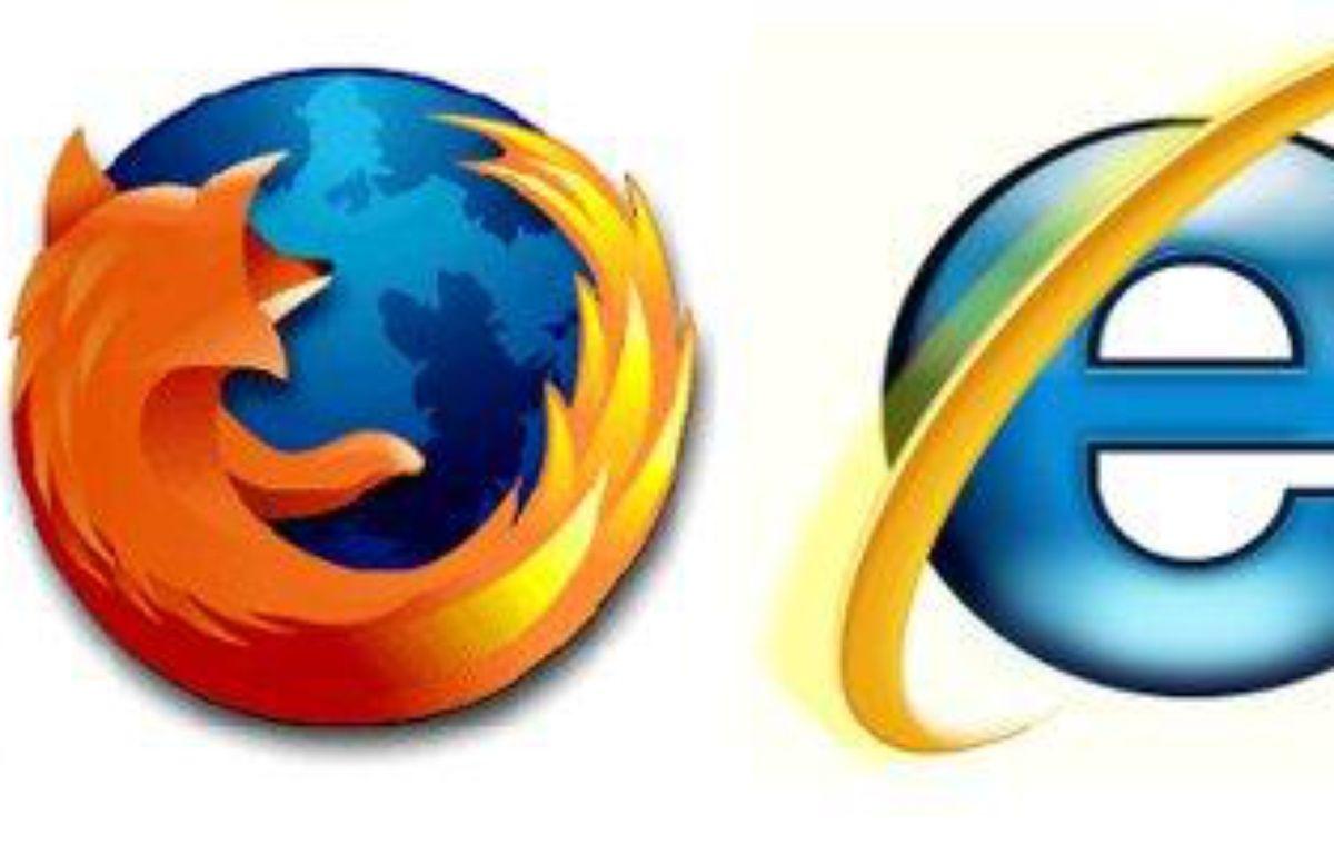 Les logos de Chrome, Firefox et Internet Explorer. – DR
