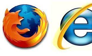 Les logos de Chrome, Firefox et Internet Explorer.