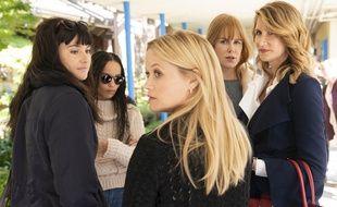 Laura Dern, Nicole Kidman, Reese Witherspoon, Shailene Woodley, Zoë Kravitz dans «Big Little Lies», saison 2