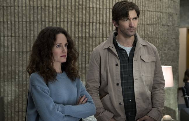 Elizabeth Reaser et Michiel Huisman dans «The Haunting of Hill House».