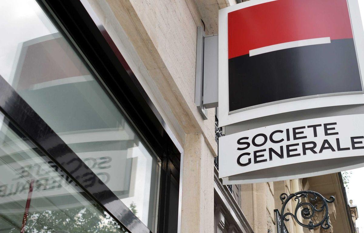 C'est une agence de la Société générale qui a été attaquée. – ALLILI MOURAD/SIPA