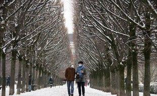 Une vague de froid touche actuellement le nord de la France, avec des chutes de neige par endroits.