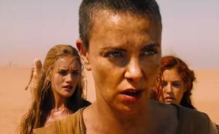 Charlize Theron joue l'impératrice Furiosa dans Mad Max. Fury Road