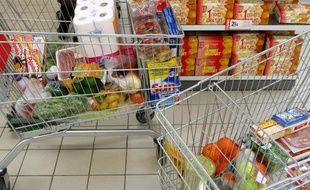 71 % des achats courants sont effectués dans les grandes surfaces.