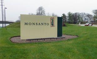 L'entrée du siège de Monsanto à Saint-Louis (Missouri), le 7 avril 2014