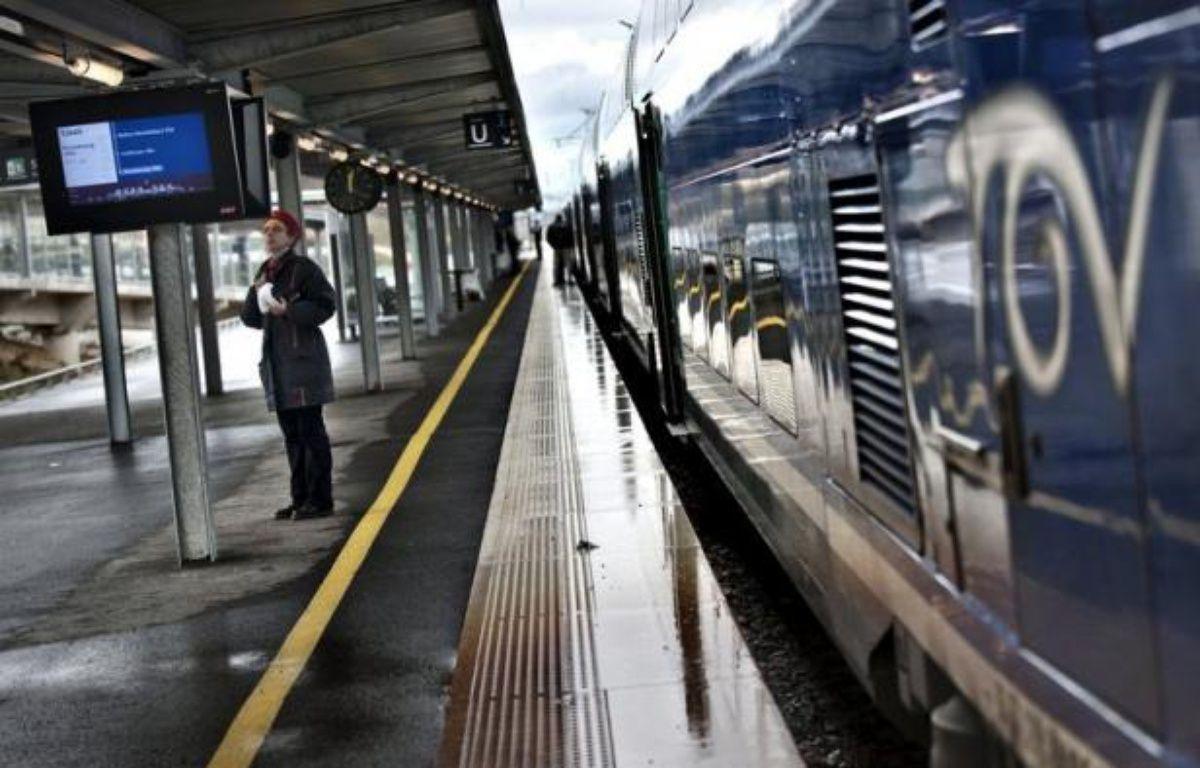 Des associations de consommateurs ont réclamé mercredi des prix bas pour les trains, l'une d'entre elle allant jusqu'à demander un gel des tarifs à la SNCF, qui vient d'annoncer une augmentation des prix des billets TGV et interrégionaux. – Jeff Pachoud afp.com