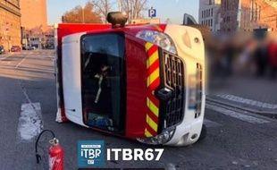 Capture d'écran page Facebook d'Info trafic Bas-Rhin