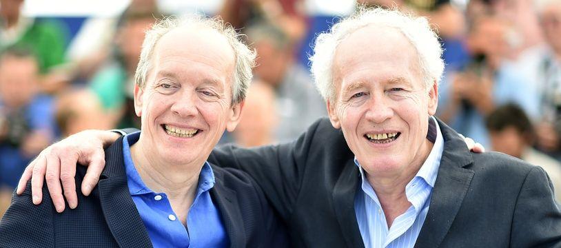 Luc (à g.) et Jean-Pierre Dardenne au festival de Cannes, en mai 2016