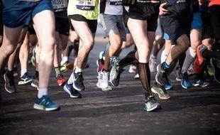 Kilomètres Parcourt Marathon MarathonSans ChaussuresIl Du Les 42 N0wvm8n