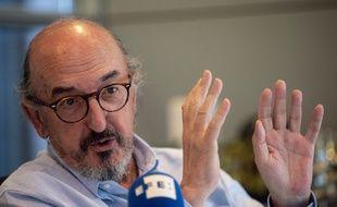 Jaume Roures, le patron du groupe espagnol Mediapro, qui diffuse la Ligue 1.
