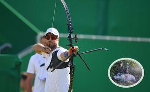 Jean-Charles Valladont à Rio, avec une passe pour la chasse