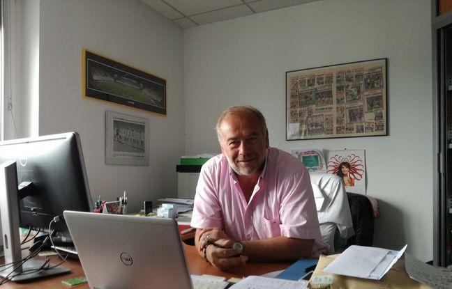 Jean-Luc Filser dans son bureau de la Ligue d'Alsace, dont il est le responsable marketing au quotidien.