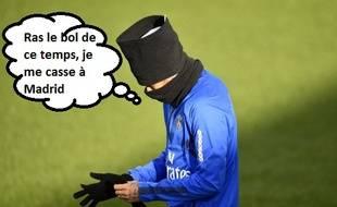 Le Real Madrid est très intéressé par Neymar.