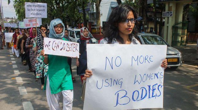 Inde une femme br l e vive alors qu elle se rendait au commissariat pour porter plainte - Porter plainte commissariat ...