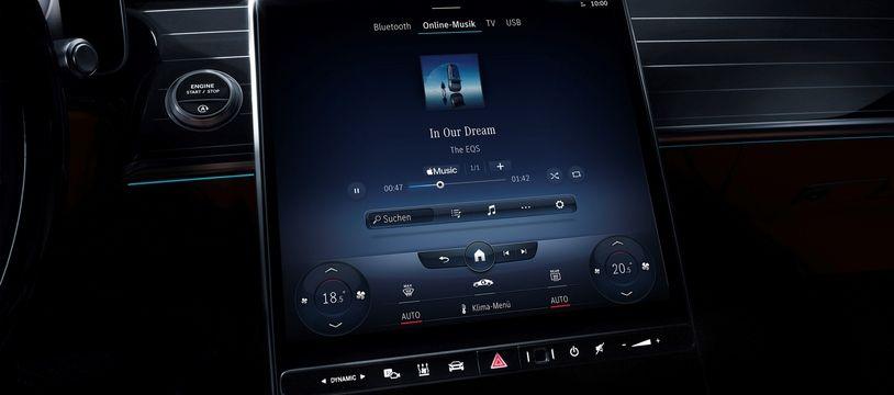 Mercedes intègre Apple Music