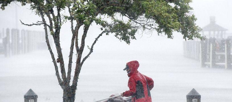 La tempête Isaias à Annapolis dans le Maryland, le 4 août 2020.