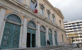 Le tribunal de Bastia, en Corse.
