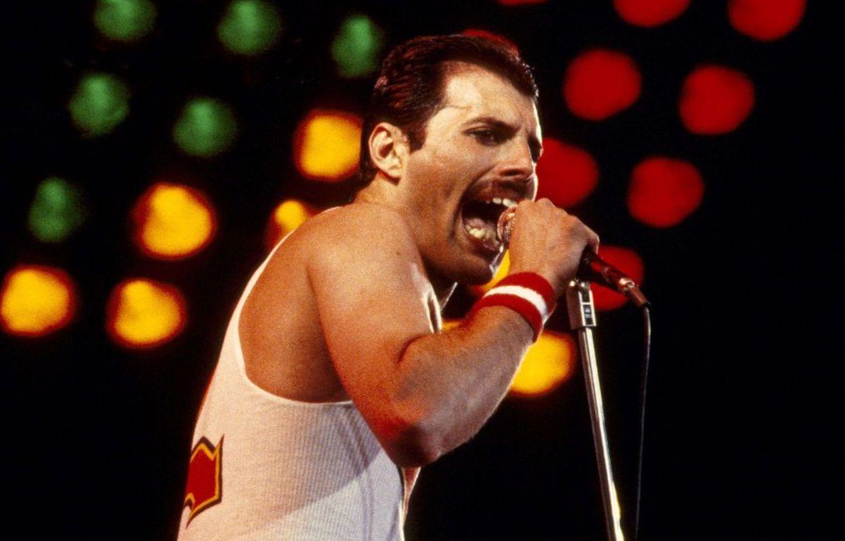 Freddie Mercury en concert en 1982 – Graham Wiltshire / Rex /REX/SIPA