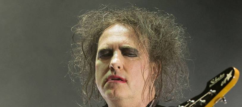 Le leadder des Cure, Robert Smith