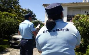 Illustration de gendarmes de Haute-Garonne en intervention.