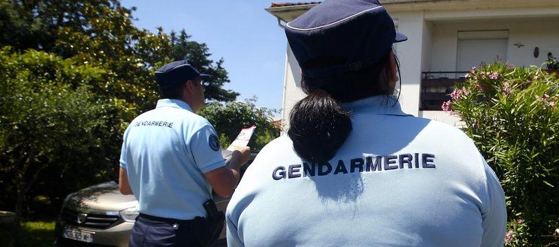 Illustration de gendarmes de Haute-Garonne en intervention.