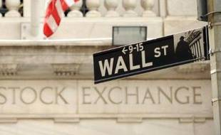 Façade de la Bourse de New York, sur Wall Street