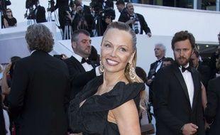 Pamela Anderson au Festival de Cannes
