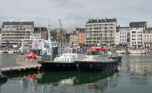Le port de Cherbourg (illustration).