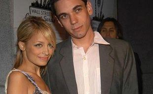 Adam Goldstein (DJ AM) et Nicole Richie, en 2005