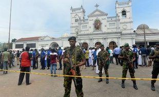 L'église Saint-Anthony de Colombo, la capitale du Sri Lanka, a été touchée par un attentat meurtrier.
