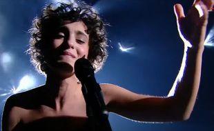 Barbara Pravi, le  30 janvier 2021, dans Eurovision France, c'est vous qui décidez, sur France 2.