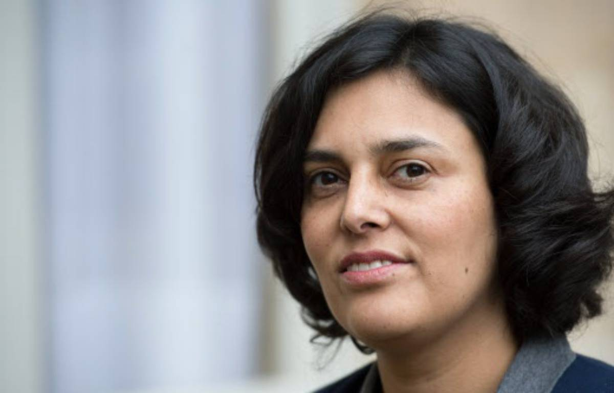 La ministre française du Travail Myriam El Khomri – CHAMUSSY