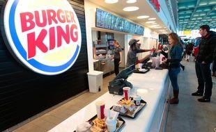 Marignane le 8 janvier 2013 - Burger king ouvre son premier restaurant en France a l ' aeroport de Marignane Marseille Provence