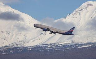 Un avion de la compagnie aérienne russe Aeroflot.