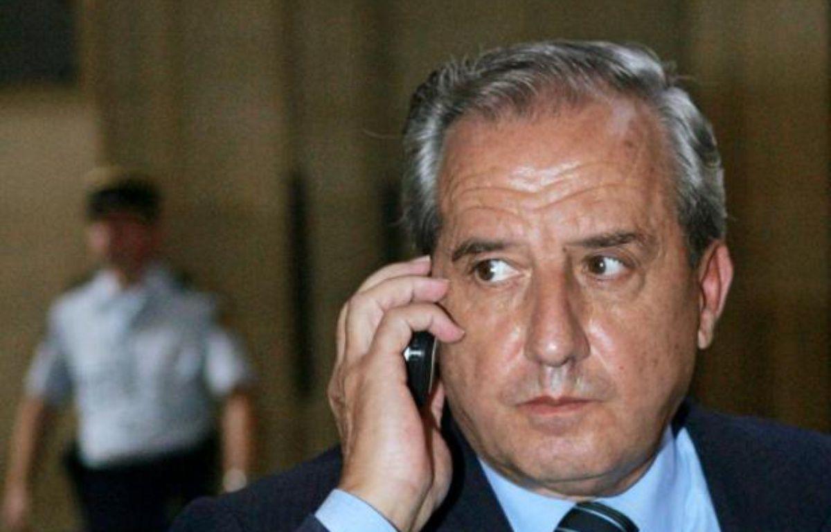 Jean-Charles Marchiani le 17 octobre 2005 au Palais de justice de Paris – Jack Guez AFP