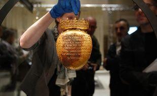 NANTES, 08/04/2014 Le reliquaire du coeur d Anne de Bretagne a été volé