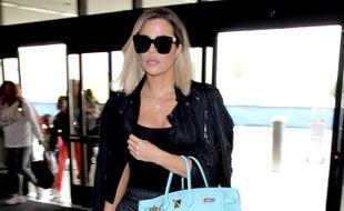 Khloé Kardashian à l'aéroport international de Los Angeles en avril 2017