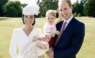 Le prince William, Kate Middleton et leurs enfants George et Charlotte en 2015