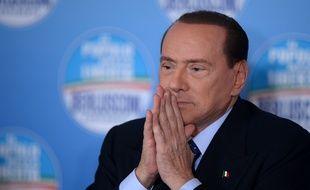 L'ancien Premier ministre Silvio Berlusconile 1er février 2013 à Rome.
